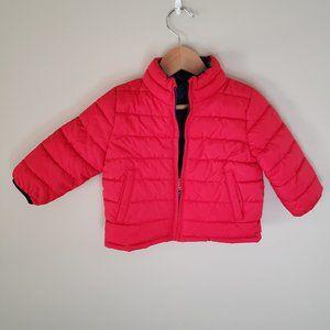 Baby Gap 12-18M reversible puffer jacket